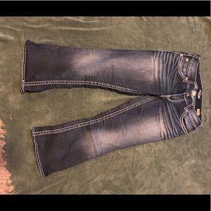 Silver jean co jeans